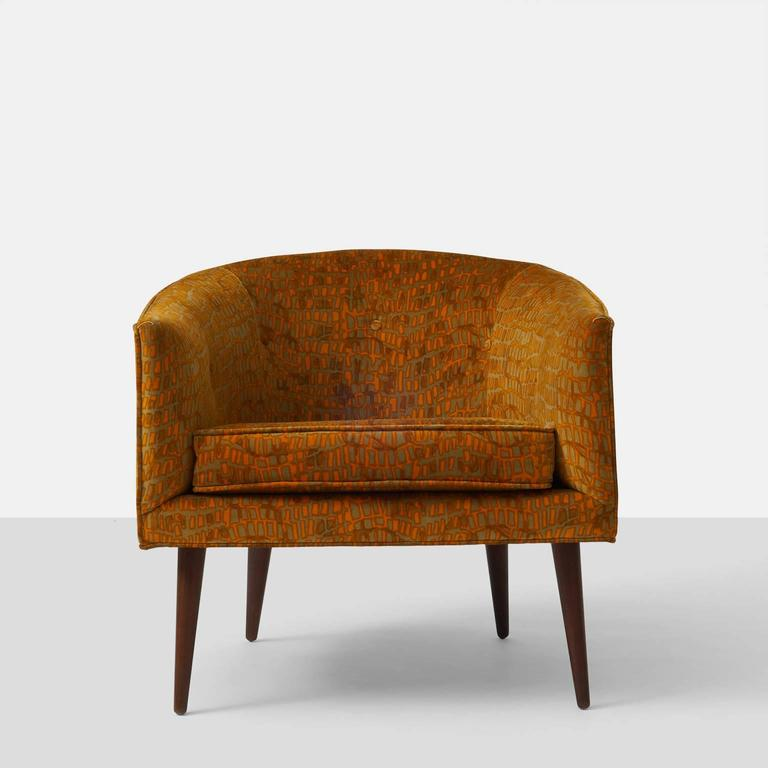 Milo Baughman Lounge Chair For Sale at 1stdibs