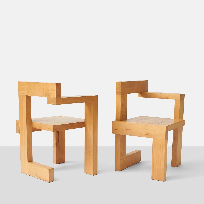 Gerrit Rietveld Steltman Chairs at 1stdibsGerrit Rietveld Chair