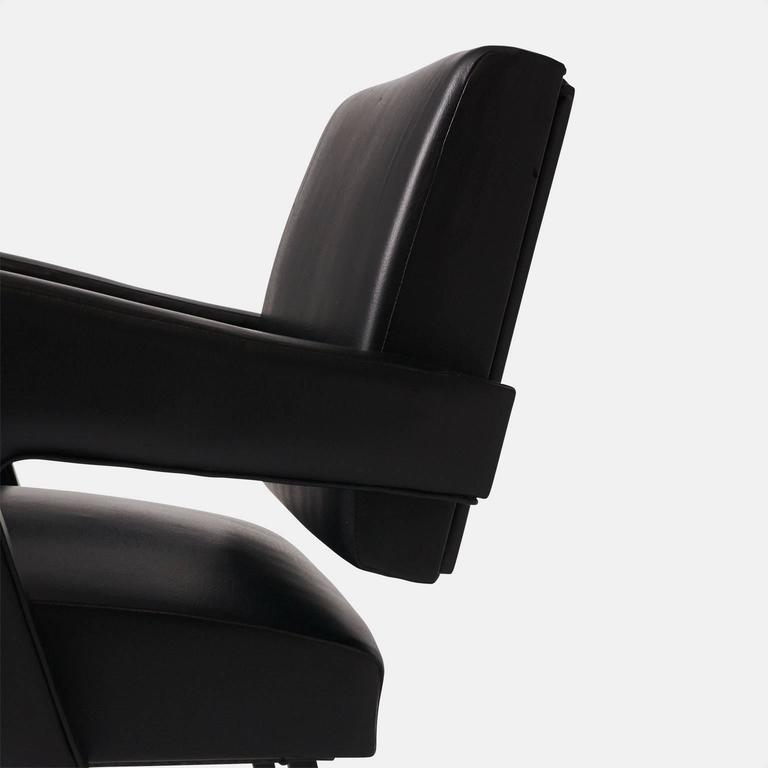 Jacques Adnet Armchair In Excellent Condition In San Francisco, CA