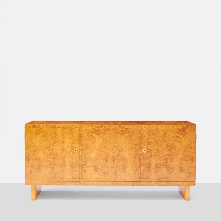 Scandinavian Modern Birka Sideboard by Axel Einar Hjorth for NK, Sweden For Sale