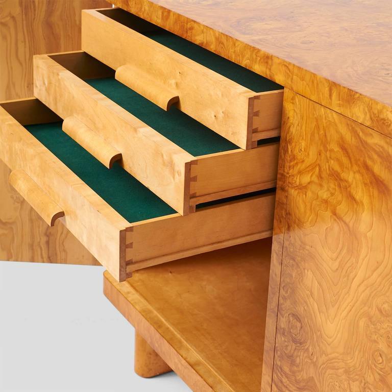 Veneer Birka Sideboard by Axel Einar Hjorth for NK, Sweden For Sale