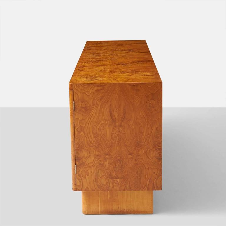 Swedish Birka Sideboard by Axel Einar Hjorth for NK, Sweden For Sale