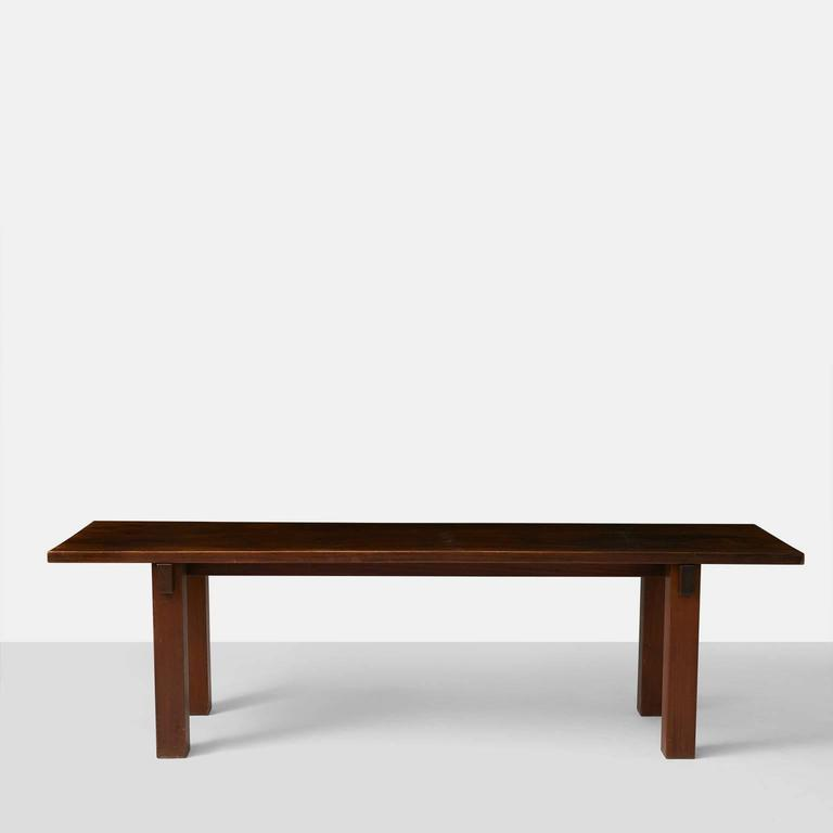 Mid-Century Modern Charlotte Perriand Brazil Table For Sale