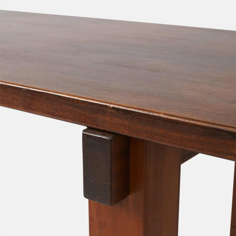 Stained Charlotte Perriand Brazil Table For Sale