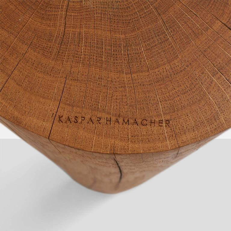 Ausgebrannt Stools by Kaspar Hamacher In Excellent Condition For Sale In San Francisco, CA