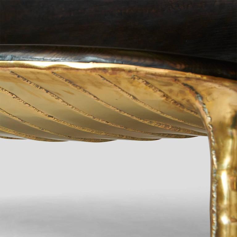 Brass Valentin Loellmann Sofa For Sale