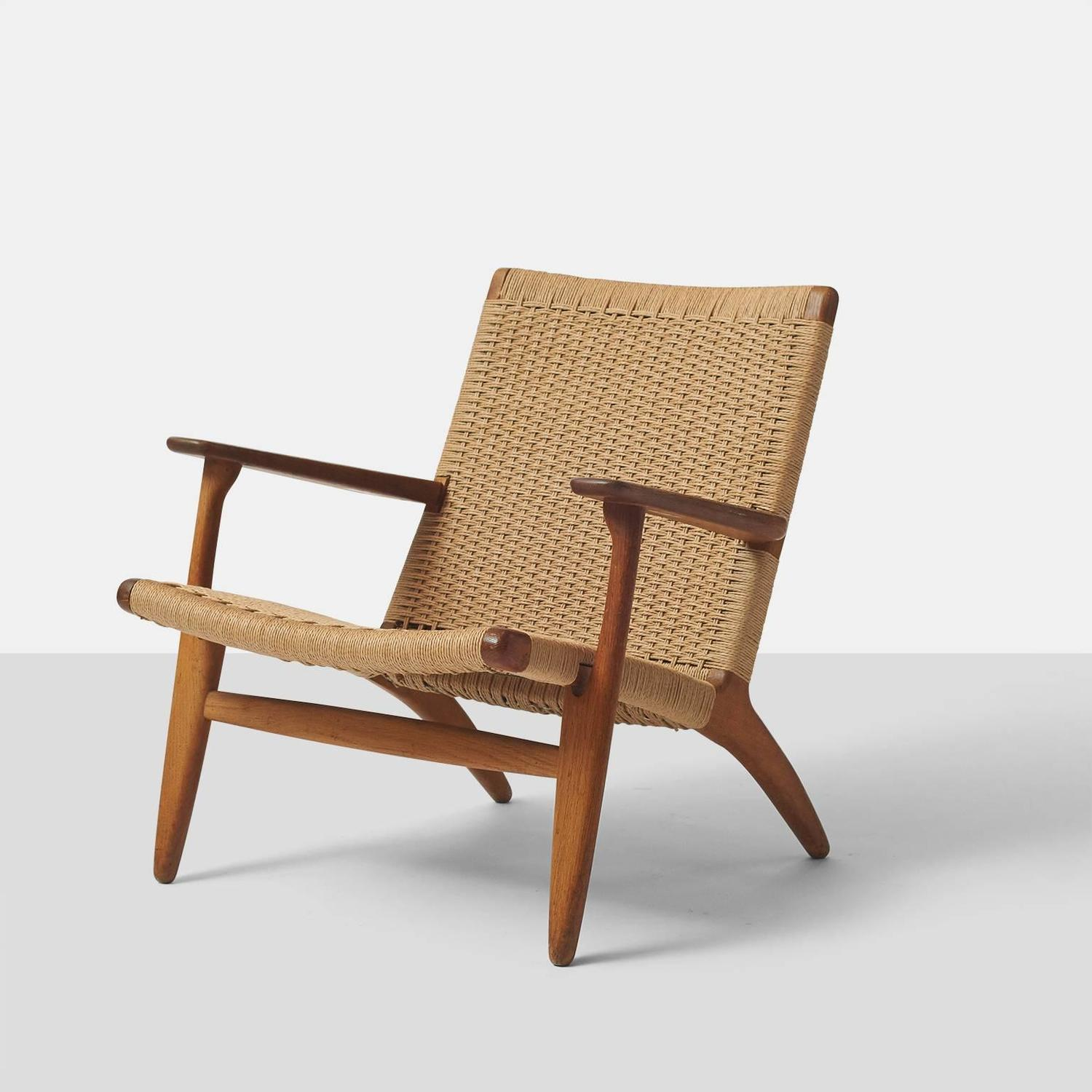 pair of hans wegner ch25 lounge chairs at 1stdibs. Black Bedroom Furniture Sets. Home Design Ideas