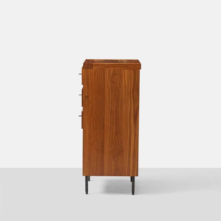 French Jean Touret Oak Cupboard For Sale