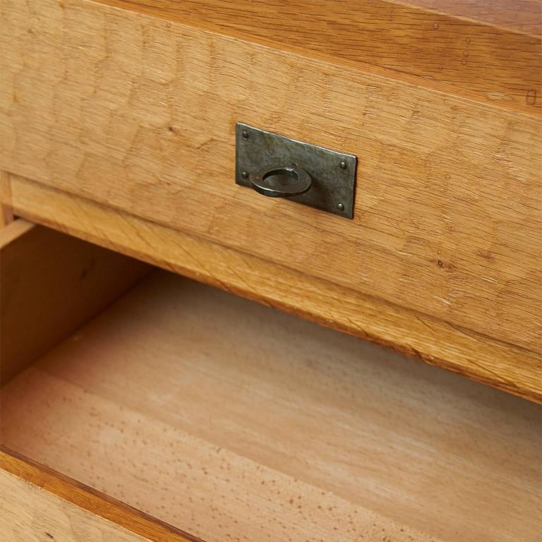 Jean Touret Oak Cupboard For Sale 2