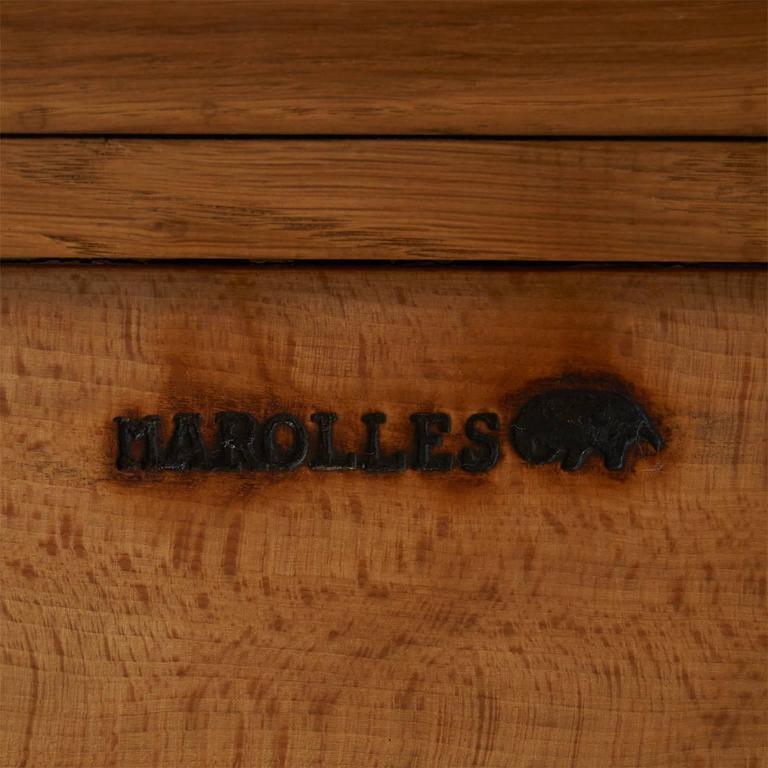 Jean Touret Oak Cupboard For Sale 3