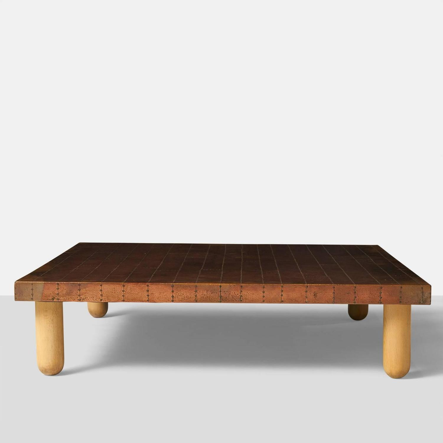 Top 28 Copper Coffee Table Vintage Danish Rosewood And Copper Coffee Table At 1stdibs