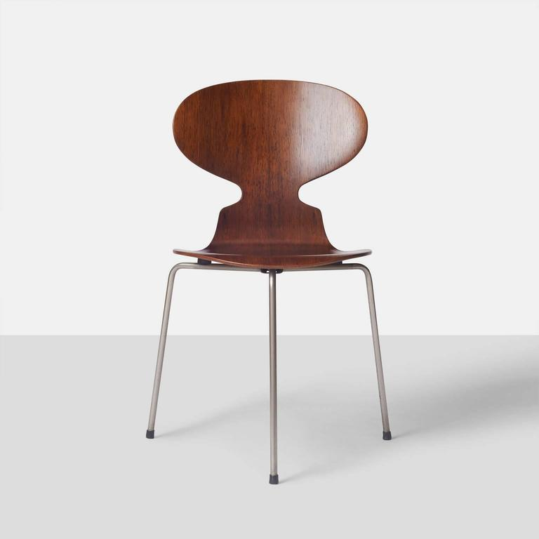 Ant Chairs #3100 by Arne Jacobsen For Sale at 1stdibs