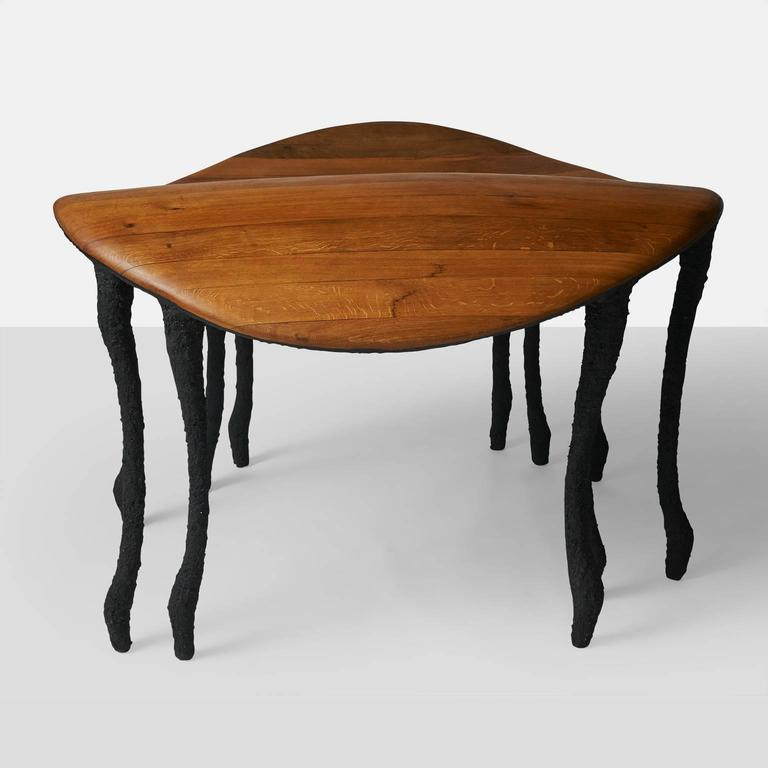 Dutch Bended Center Table by Valentin Loellmann For Sale