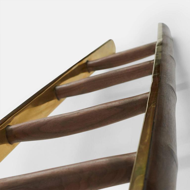 Dutch Ladder in Brass by Valentin Loellmann For Sale