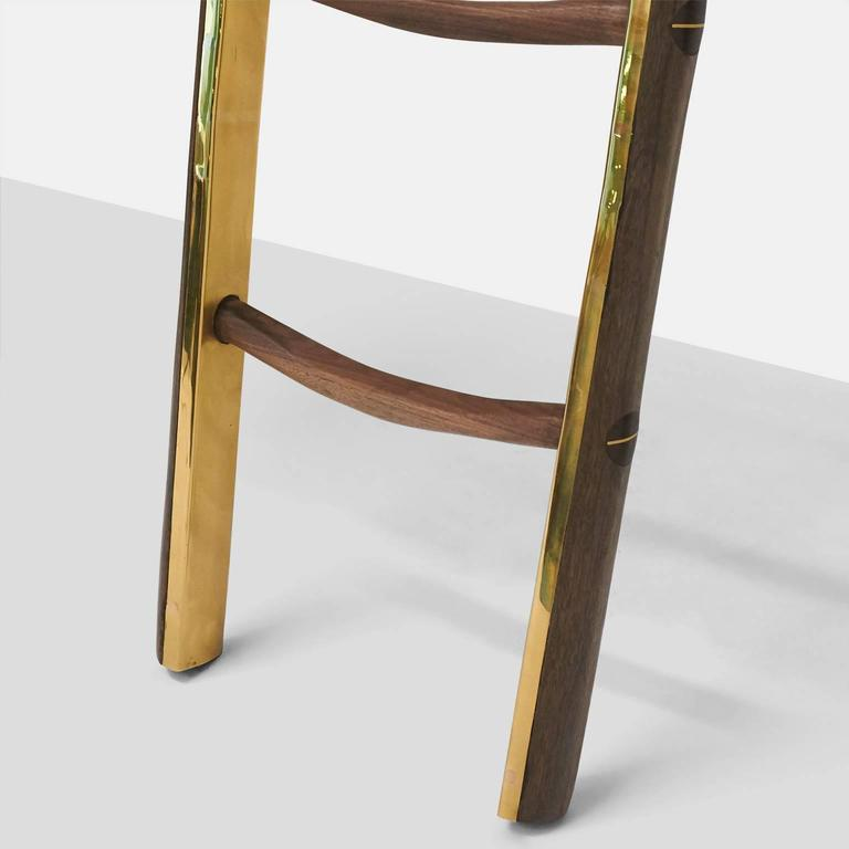 Ladder in Brass by Valentin Loellmann In Excellent Condition For Sale In San Francisco, CA