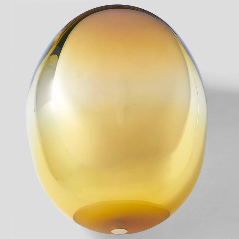A free handblown glass