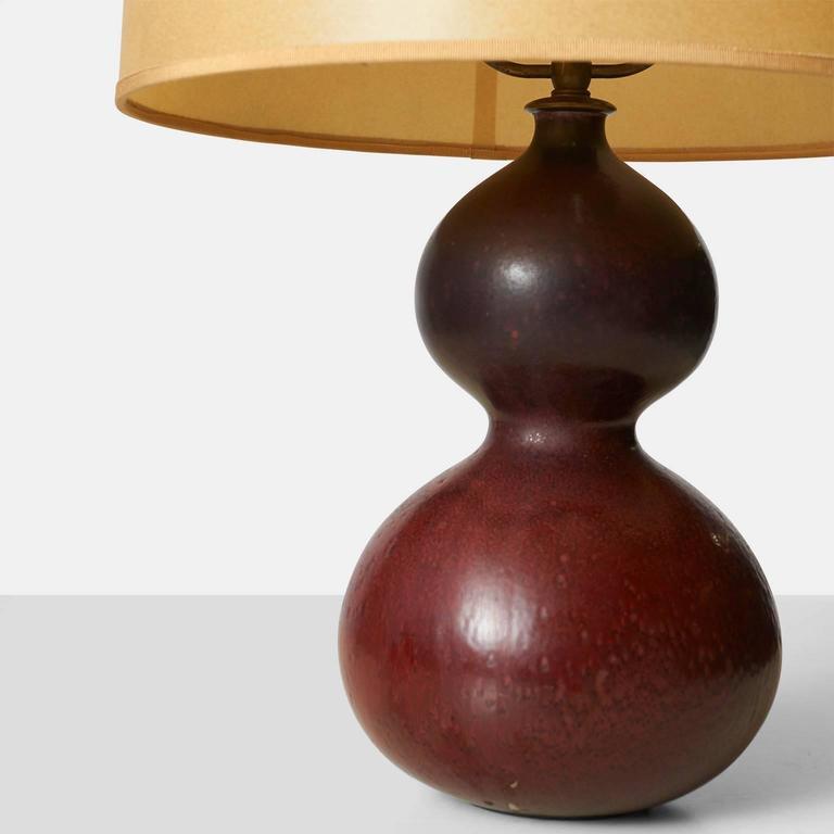 Scandinavian Modern Table Lamp by Axel Salto For Sale
