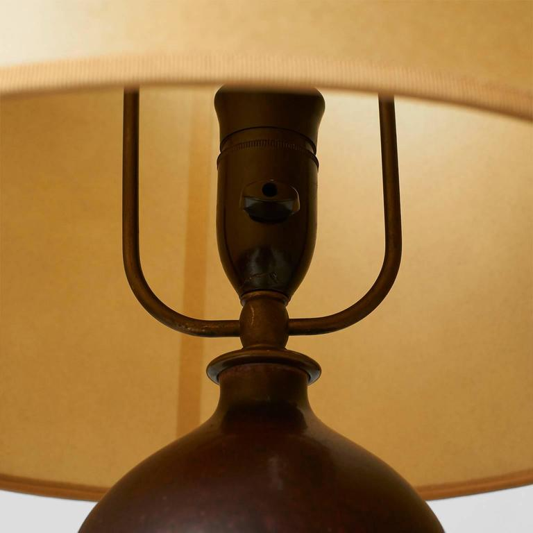 Danish Table Lamp by Axel Salto For Sale