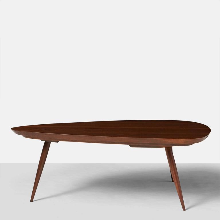 Mid-Century Modern Phillip Lloyd Powell Coffee Table For Sale