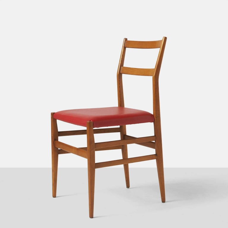 Mid-Century Modern Leggera Chairs by Gio Ponti for Cassina For Sale