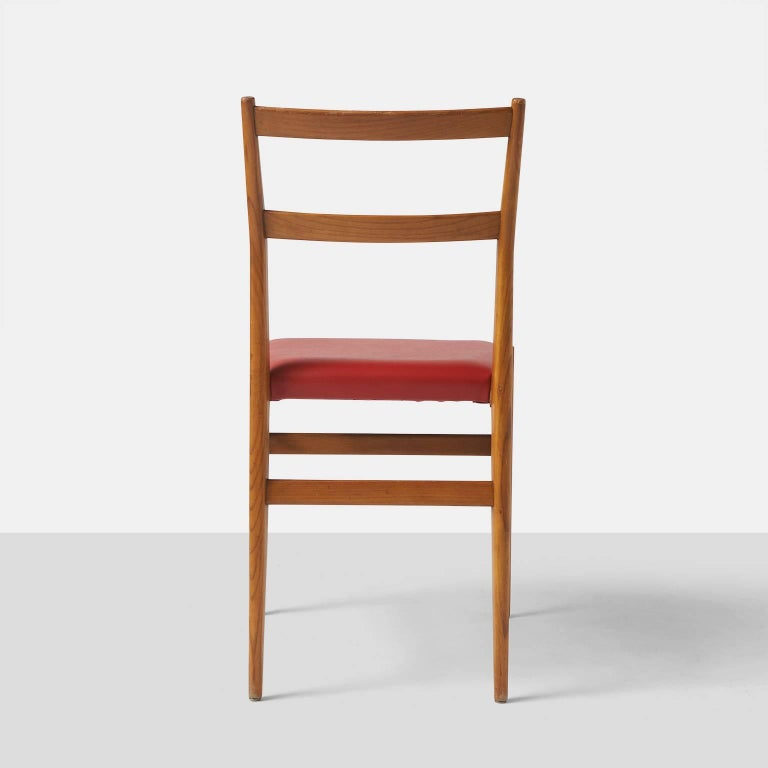 Mid-20th Century Leggera Chairs by Gio Ponti for Cassina For Sale