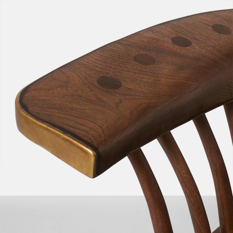 Brass Sofa by Valentin Loellmann For Sale