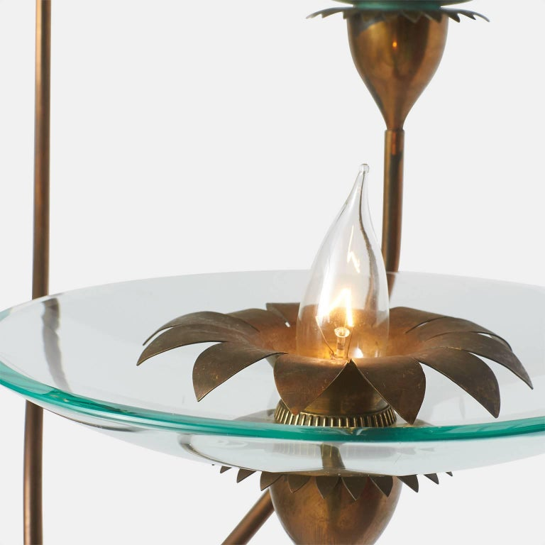 Italian Pietro Cheisa Floor Lamp for Fontana Arte For Sale