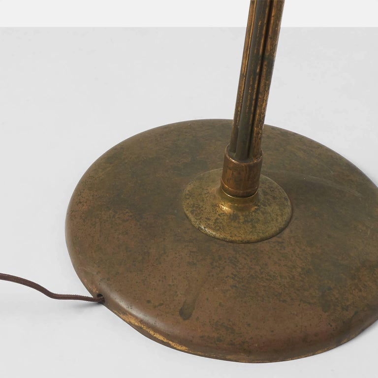 Brass Pietro Cheisa Floor Lamp for Fontana Arte For Sale