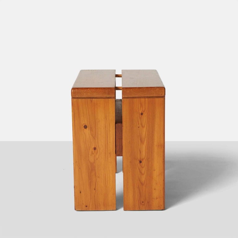 Pair of Stools by Charlotte Perriand 5