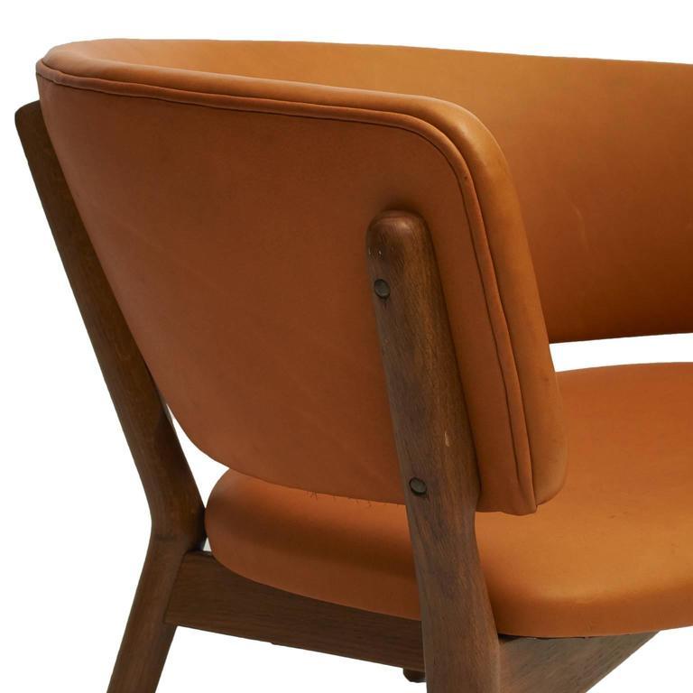 Oak Nanna Ditzel, Lounge Chairs For Sale