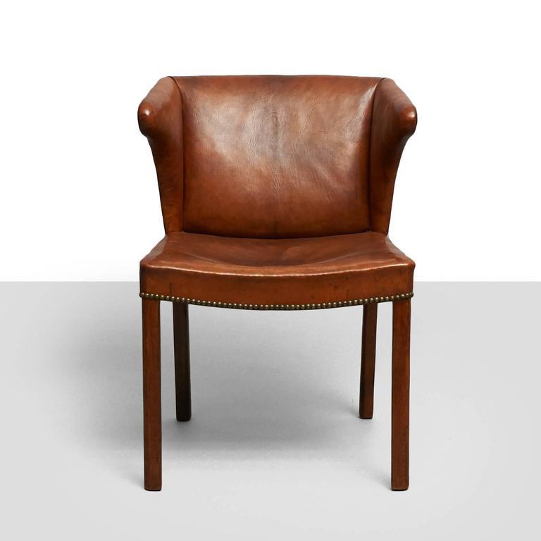 Danish Frits Henningsen Easy Chair For Sale