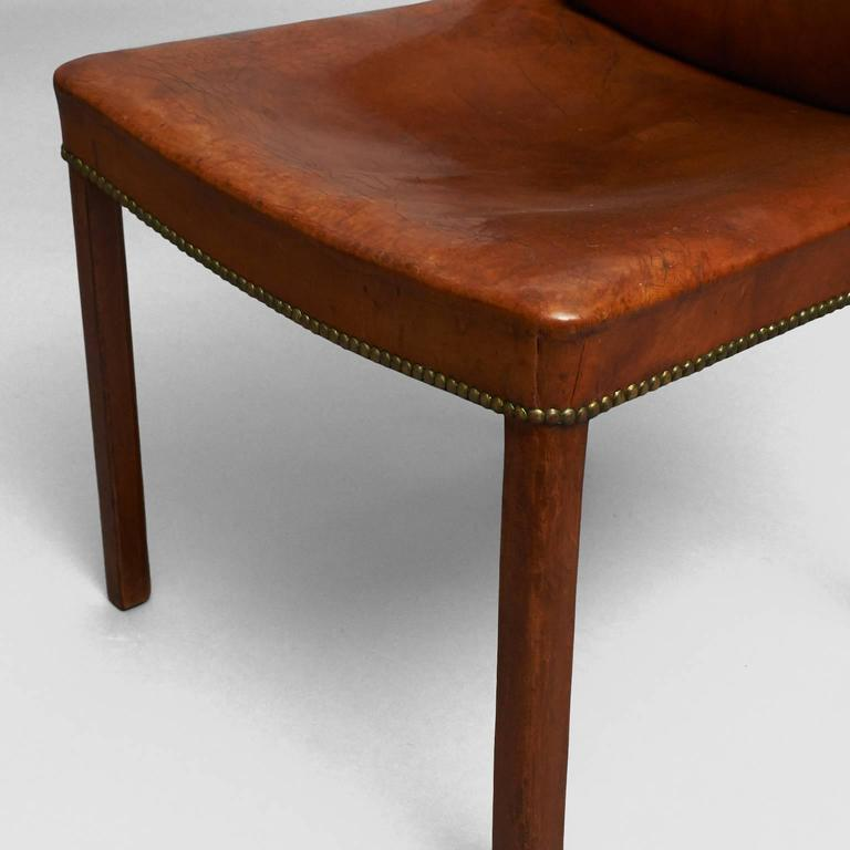 Mid-20th Century Frits Henningsen Easy Chair For Sale