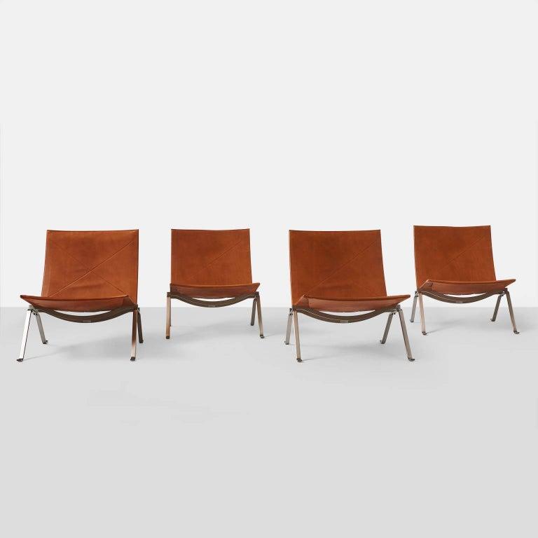 Poul Kjaerholm PK22 Chairs 6
