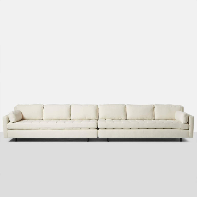 Mid-Century Modern Two-Part Sofa by Harvey Probber For Sale