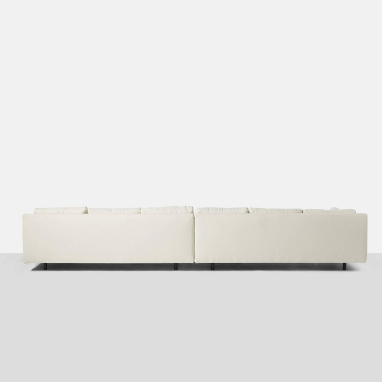 American Two-Part Sofa by Harvey Probber For Sale