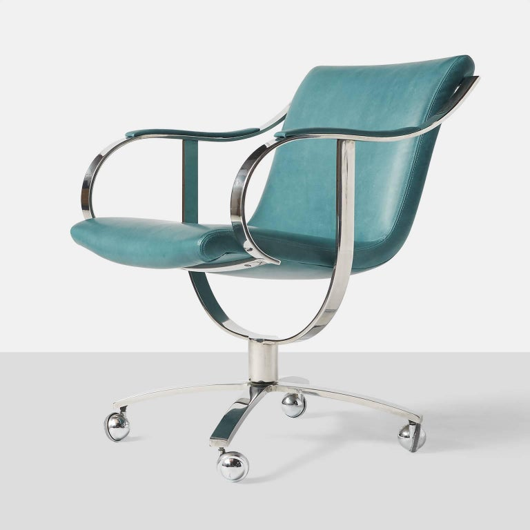 American Swivel Chairs by Gardner Leaver for Steelcase For Sale