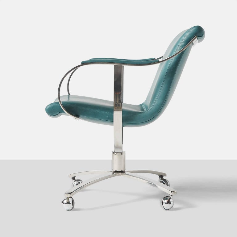 Late 20th Century Swivel Chairs by Gardner Leaver for Steelcase For Sale