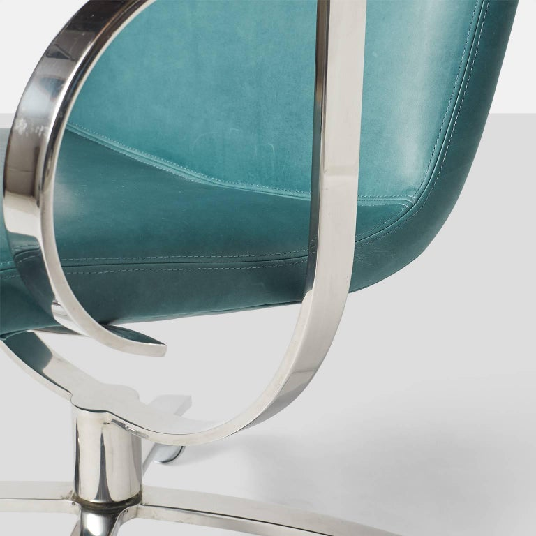 Swivel Chairs by Gardner Leaver for Steelcase For Sale 3