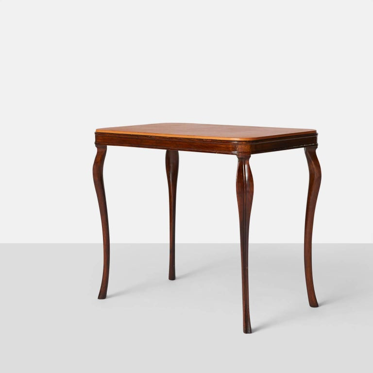 Scandinavian Modern Side Tables by Frits Henningsen For Sale