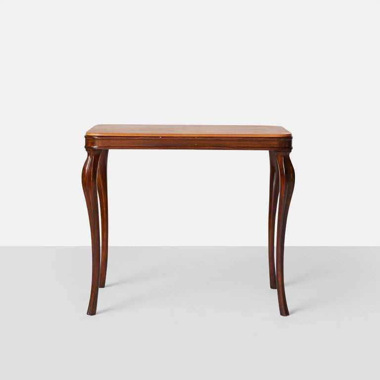 Danish Side Tables by Frits Henningsen For Sale