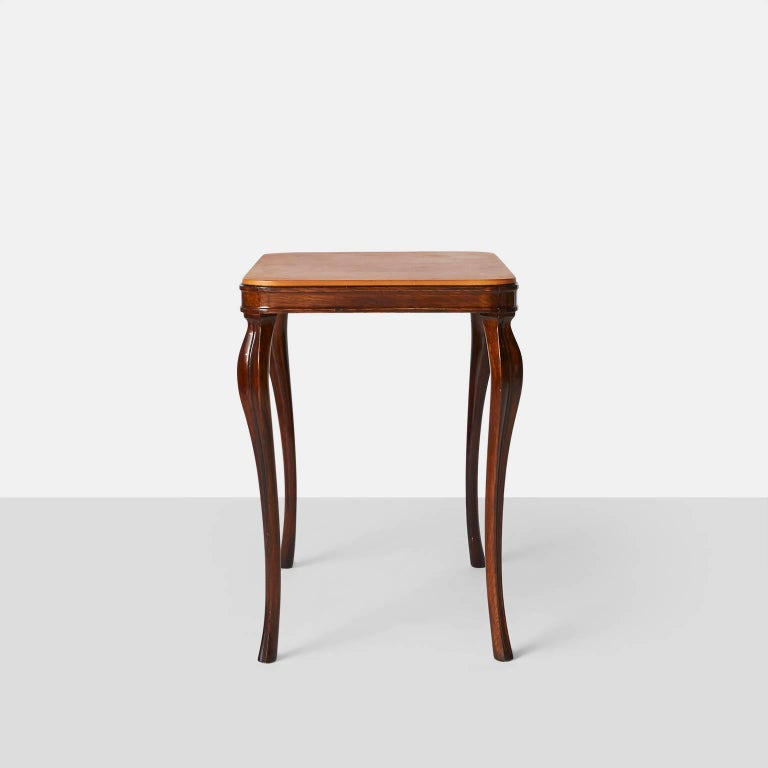 Side Tables by Frits Henningsen In Excellent Condition For Sale In San Francisco, CA