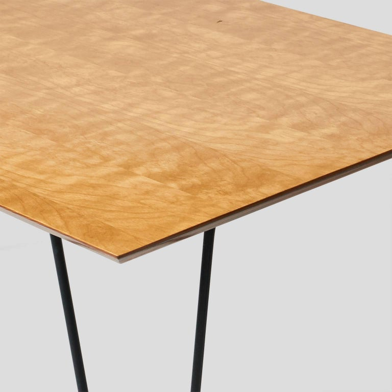 Enameled Dining Table by Dorothy Schindele For Sale