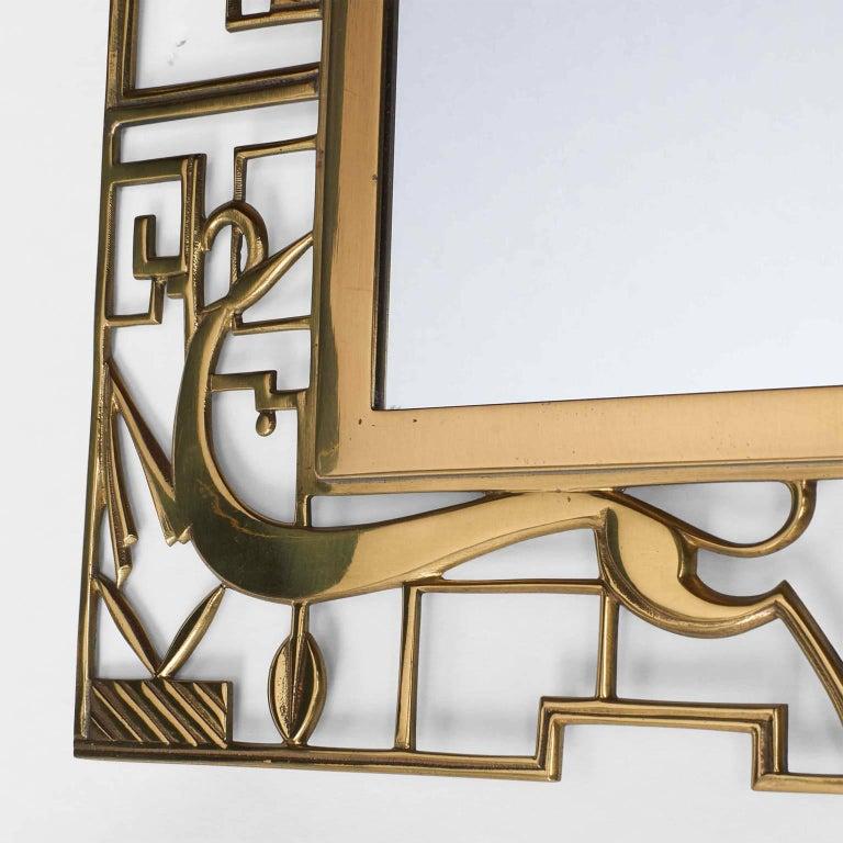 Austrian Karl Hagenauer Mirror for Werkstate Hagenauer For Sale