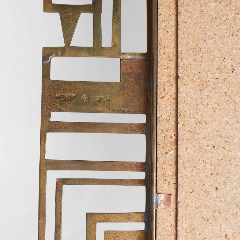 Cast Karl Hagenauer Mirror for Werkstate Hagenauer For Sale