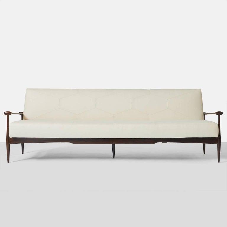Brazilian Sofa by Liceu de Arte e Officios For Sale