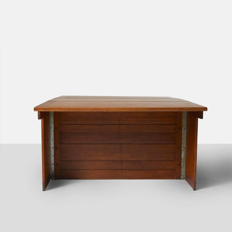 Partners Desk by Wharton Esherick In Excellent Condition For Sale In San Francisco, CA