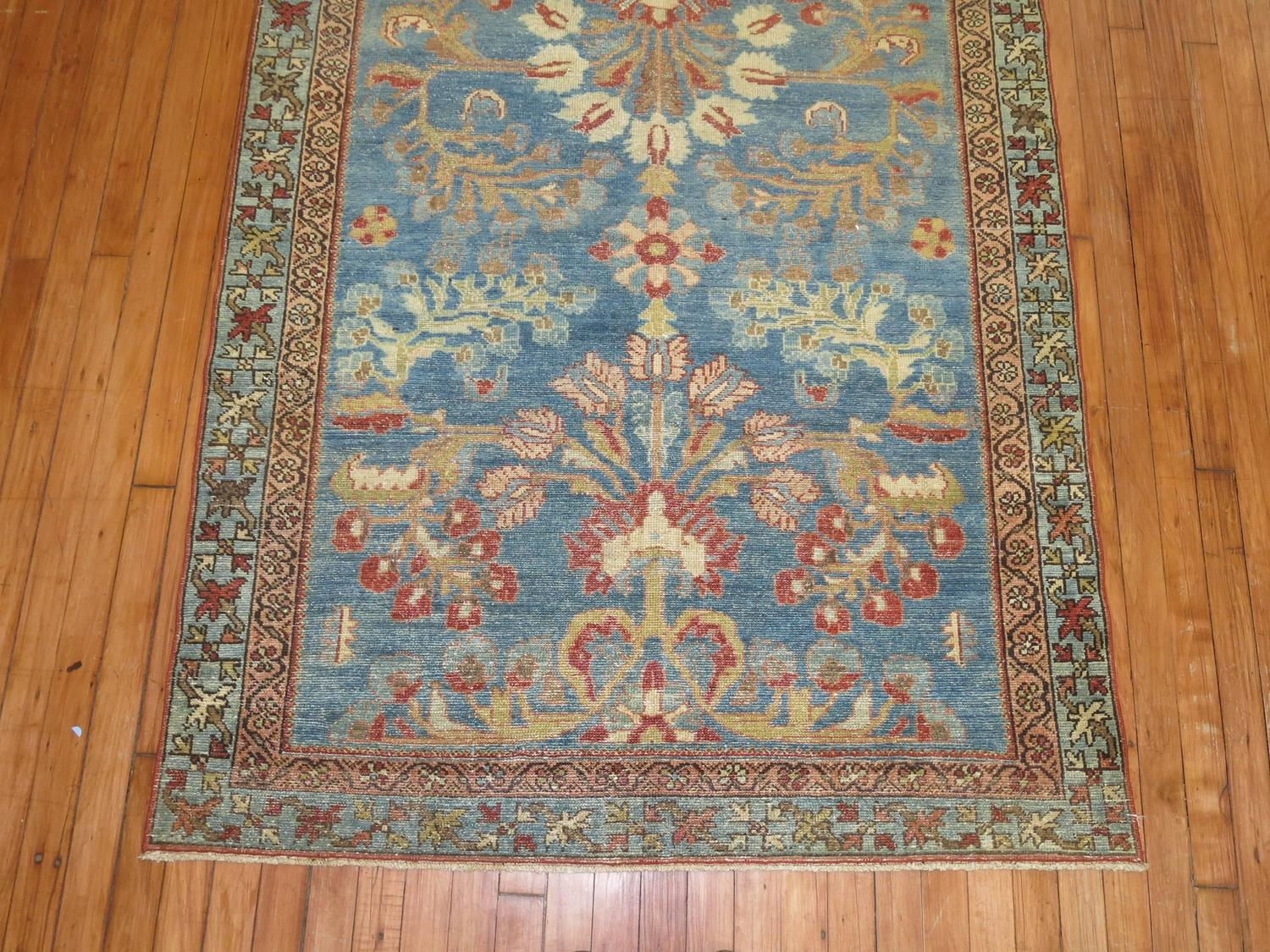 Blue Persian Area Rug For Sale At 1stdibs