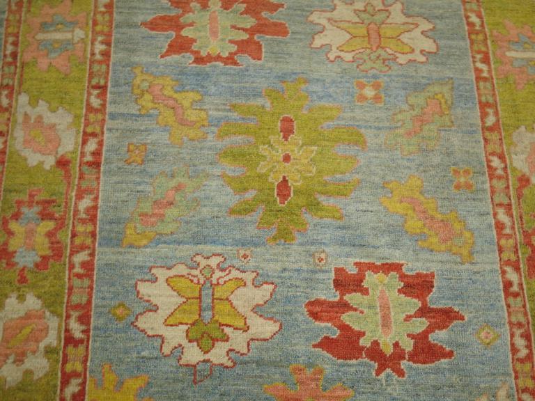 Turkish Oushak Carpet 3