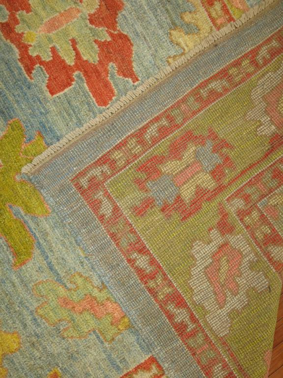 Turkish Oushak Carpet 6