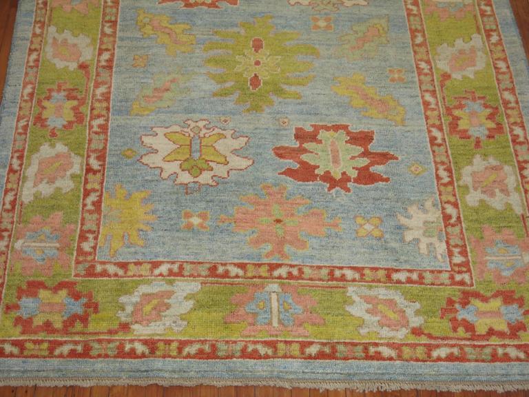 Turkish Oushak Carpet 7